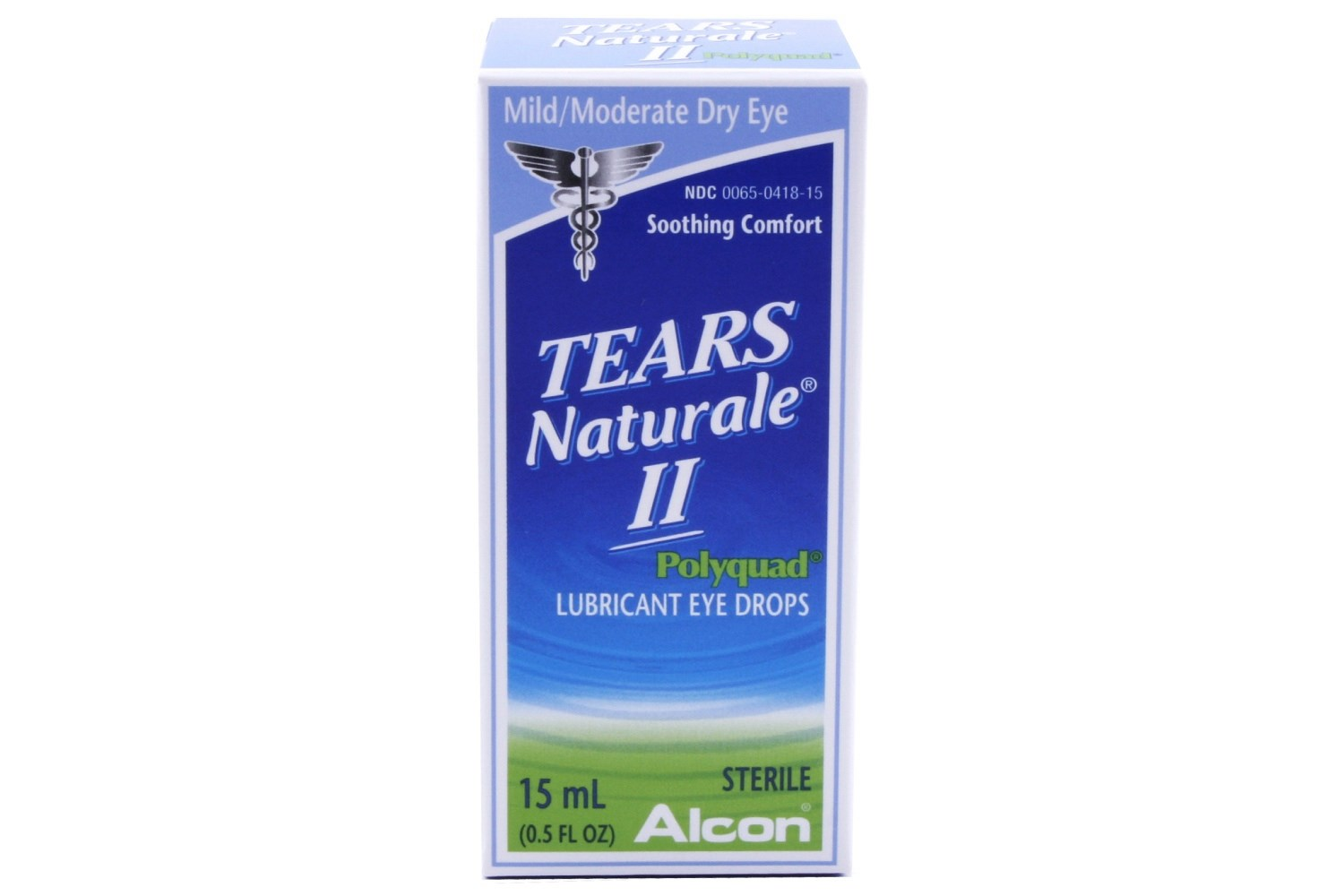 Tears Naturale II Polyquad Dry Eye Relief 5 fl oz