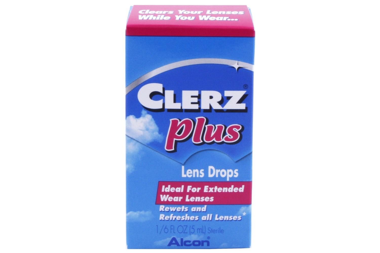 Clerz Plus Contact Lens Drops 17 fl oz