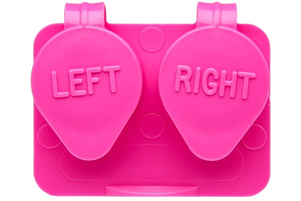 Amcon Flip Top Lens Case (colored) Pink Cases