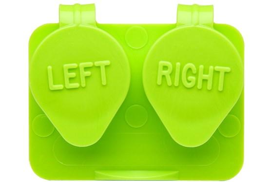 Amcon Flip Top Lens Case (colored) Green Cases