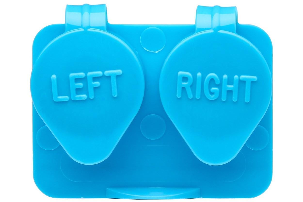 Amcon Flip Top Lens Case (colored) Blue Cases