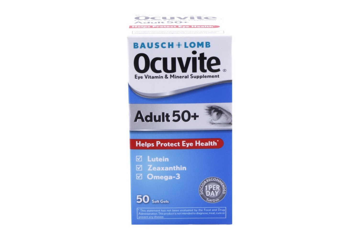 Ocuvite Adult 50 Eye Supplement and Vision Care Vitamins 50 ct
