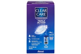 Clear Care Cleaning & Disinfecting Contact Lens Solution 3floz