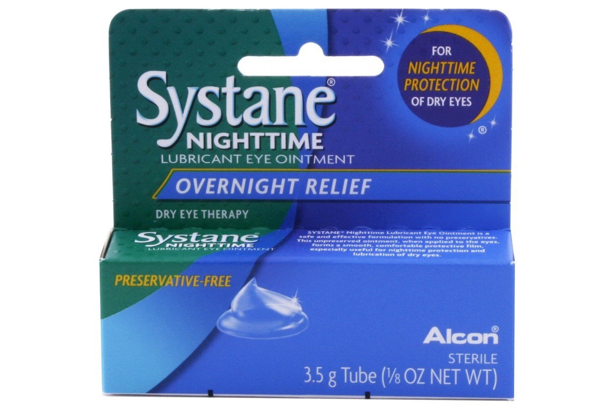 Systane Nighttime Lubricant Eye Ointment (.21 oz)  DryRedEyeTreatments