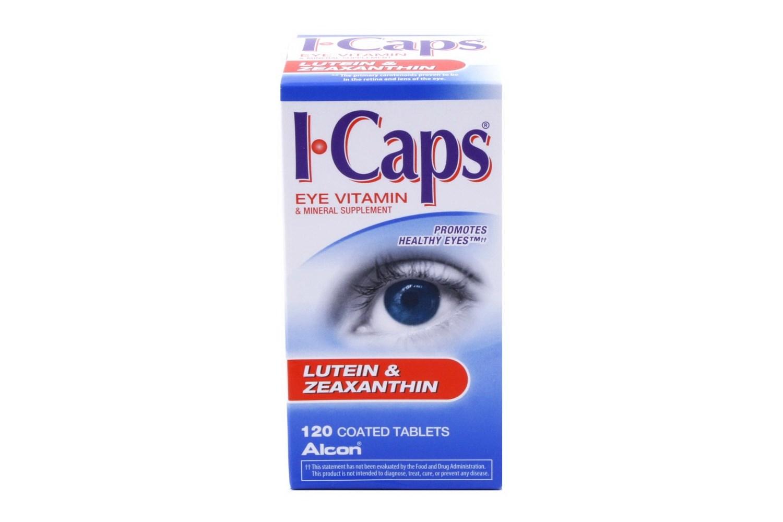 Alcon I Caps Lutein Zeaxanthin Eye Vitamin 120 ct