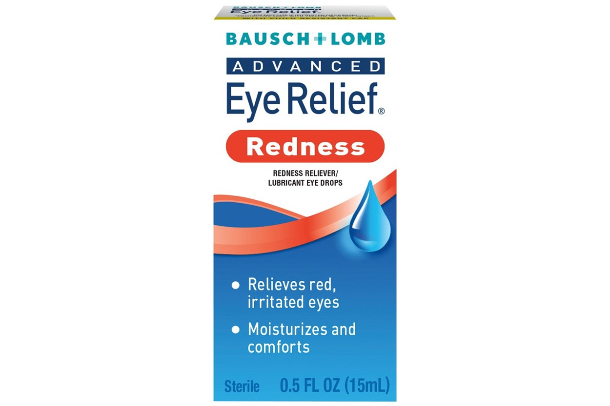 Bausch and Lomb Advanced Eye Relief Redness Instant Relief  Eye Drops (.5 fl oz)  DryRedEyeTreatments