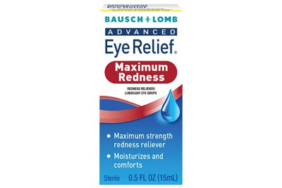 Bausch and Lomb Advanced Eye Relief Redness Maximum Relief  Eye Drops (.5 fl oz)