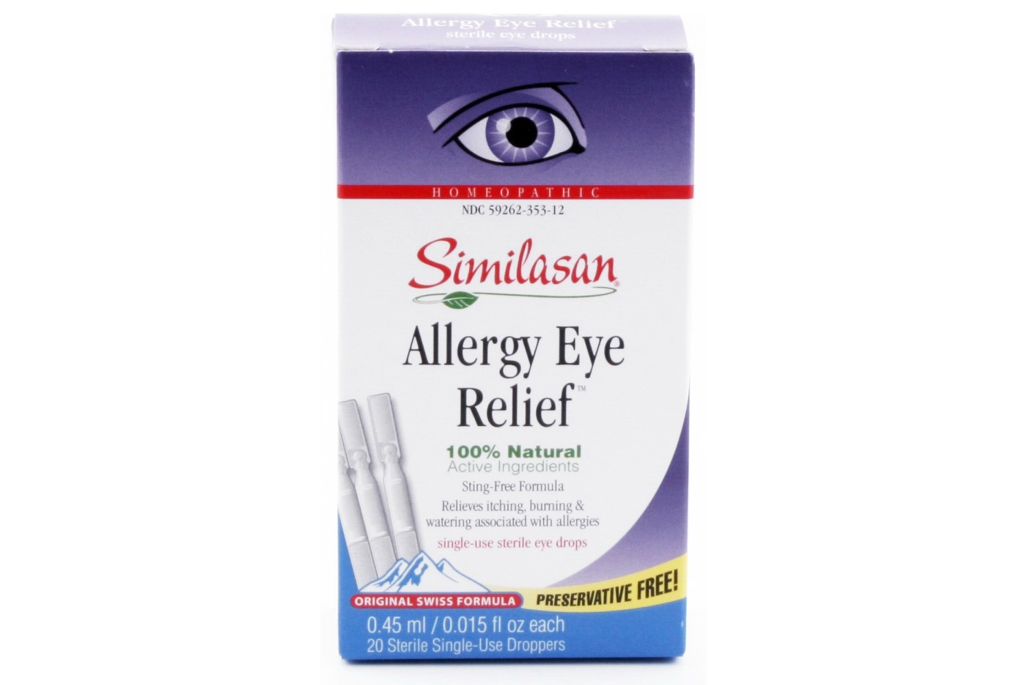 Drops Redness Red Eyes Drops Dry Eyes Moisture Irritated Eyes #B01B23