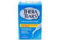 Thera Tears Lubricant Eye Drops with Twist-Top Vial (32 Containers)