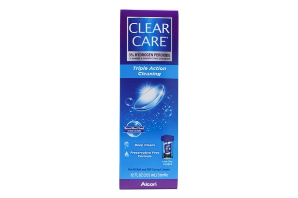 Clear Care Cleaning and Disinfecting Contacts Solution (12 floz 360ml) SolutionsCleaners