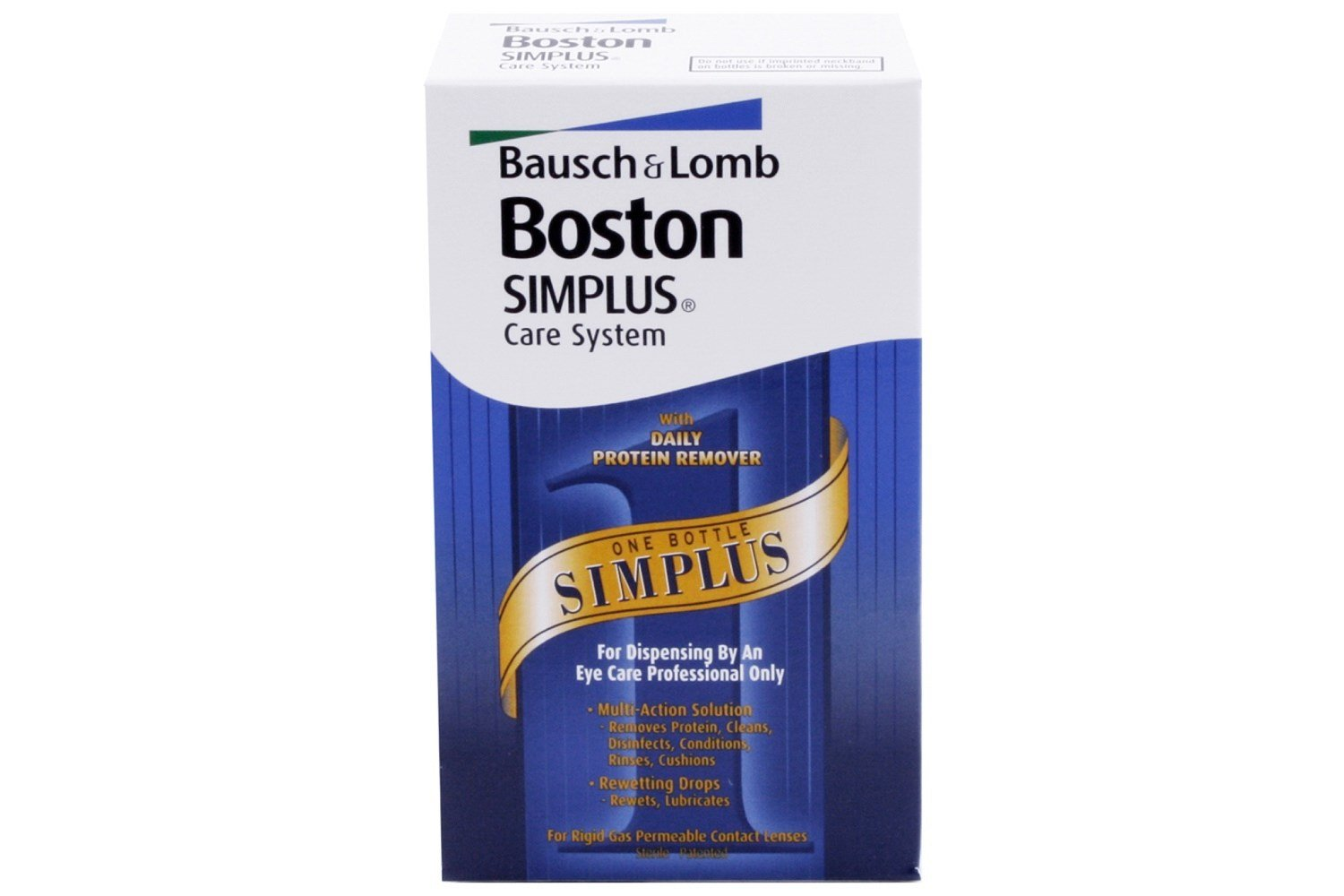Boston Simplus Care System Multi Action Contact Lens Solution