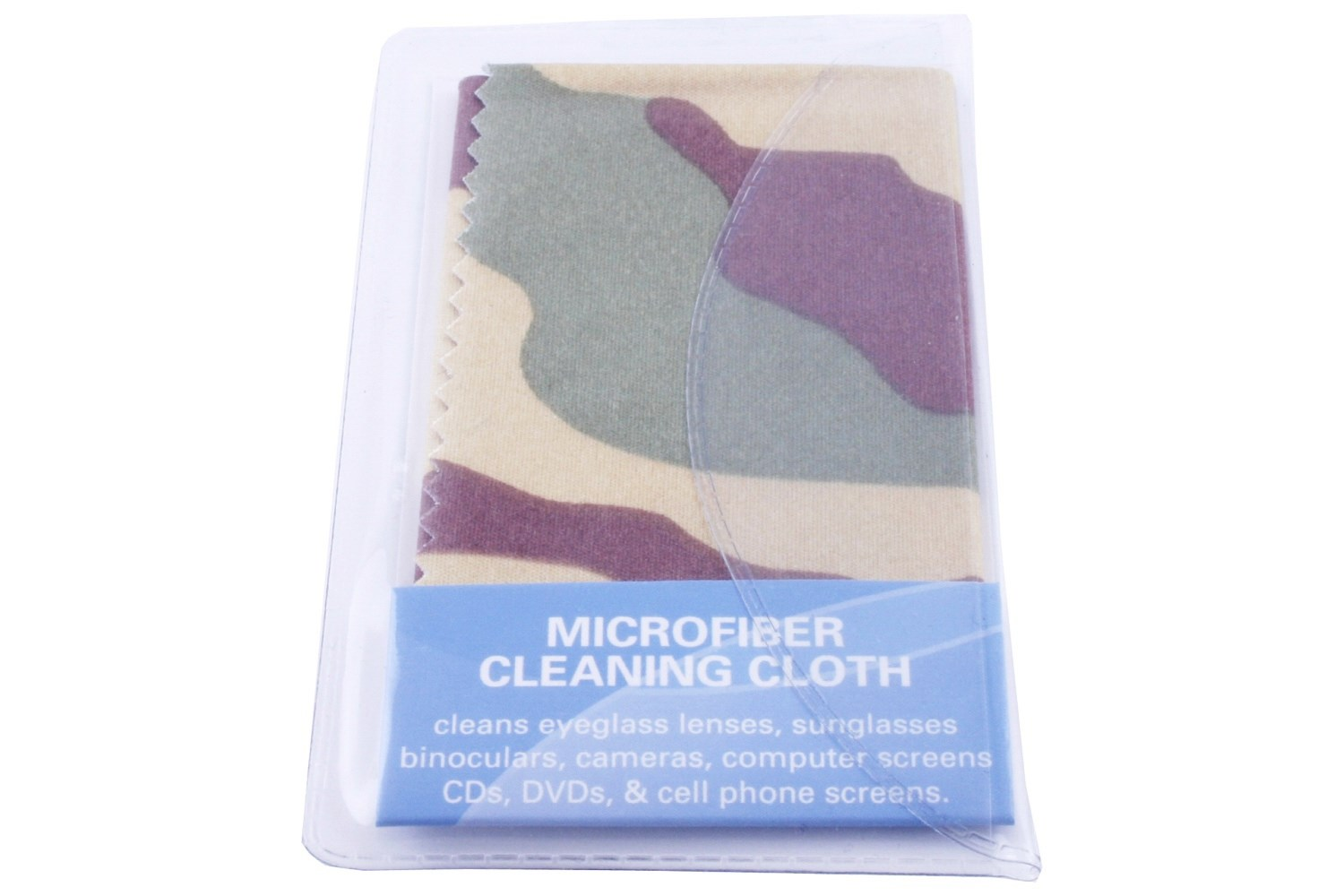 Camouflage Glasses Micro Fiber Lens Cleaning Cloth