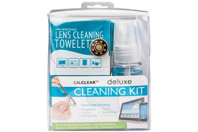 CalOptix Deluxe Eyeglasses and Sunglasses Cleaning Kit