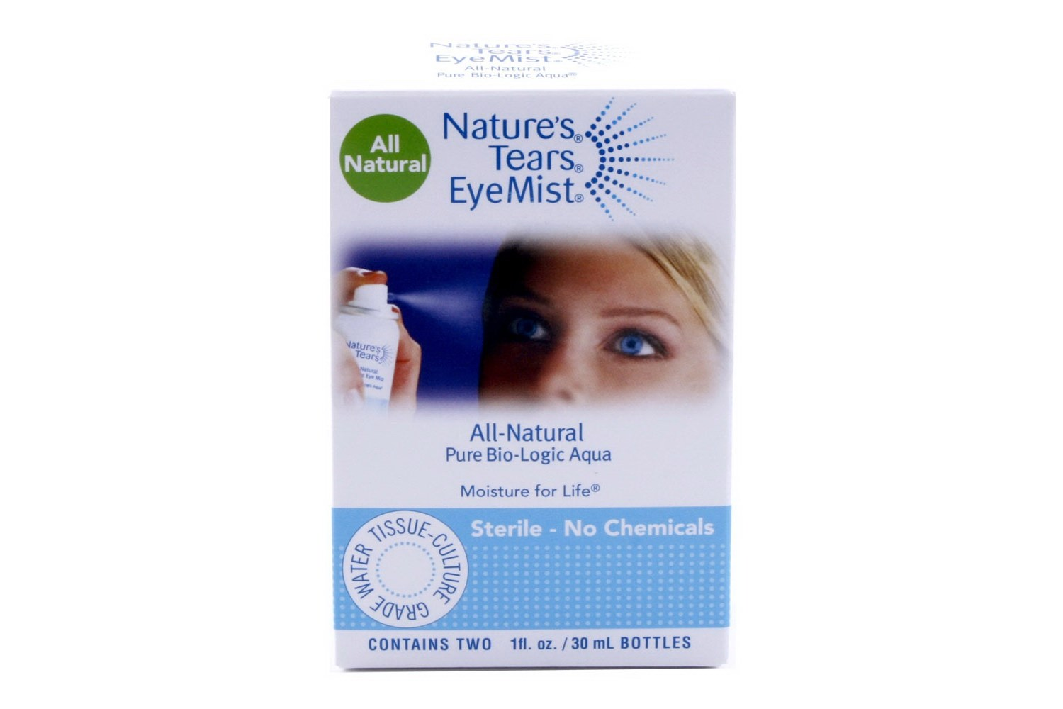 Natures Tears Mist Twin Pack