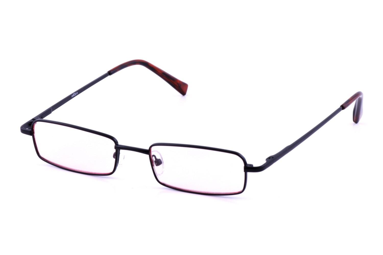 California Accessories Medium Rectangle Black Computer Glasses