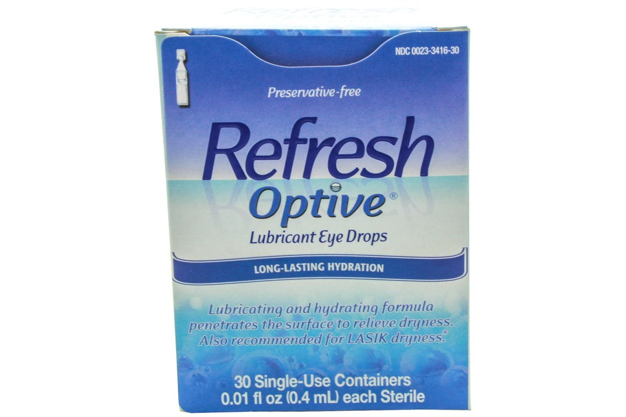 Refresh Optive Advanced Preservative-Free Eye Drops (30 ct.)  DryRedEyeTreatments
