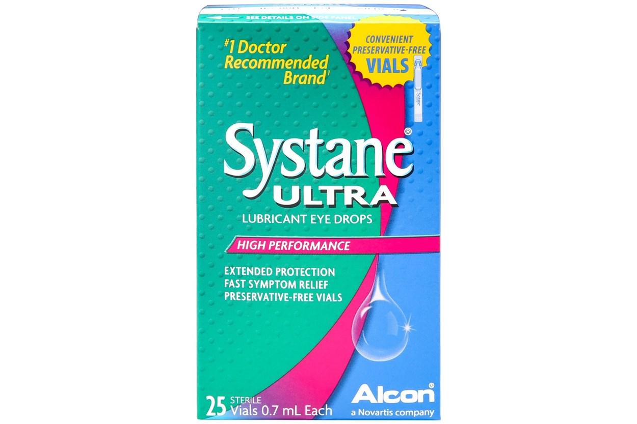 Systane Ultra Preservative Free Drops 25ct  DryRedEyeTreatments