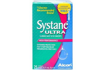 Systane Ultra Preservative Free Drops 25ct