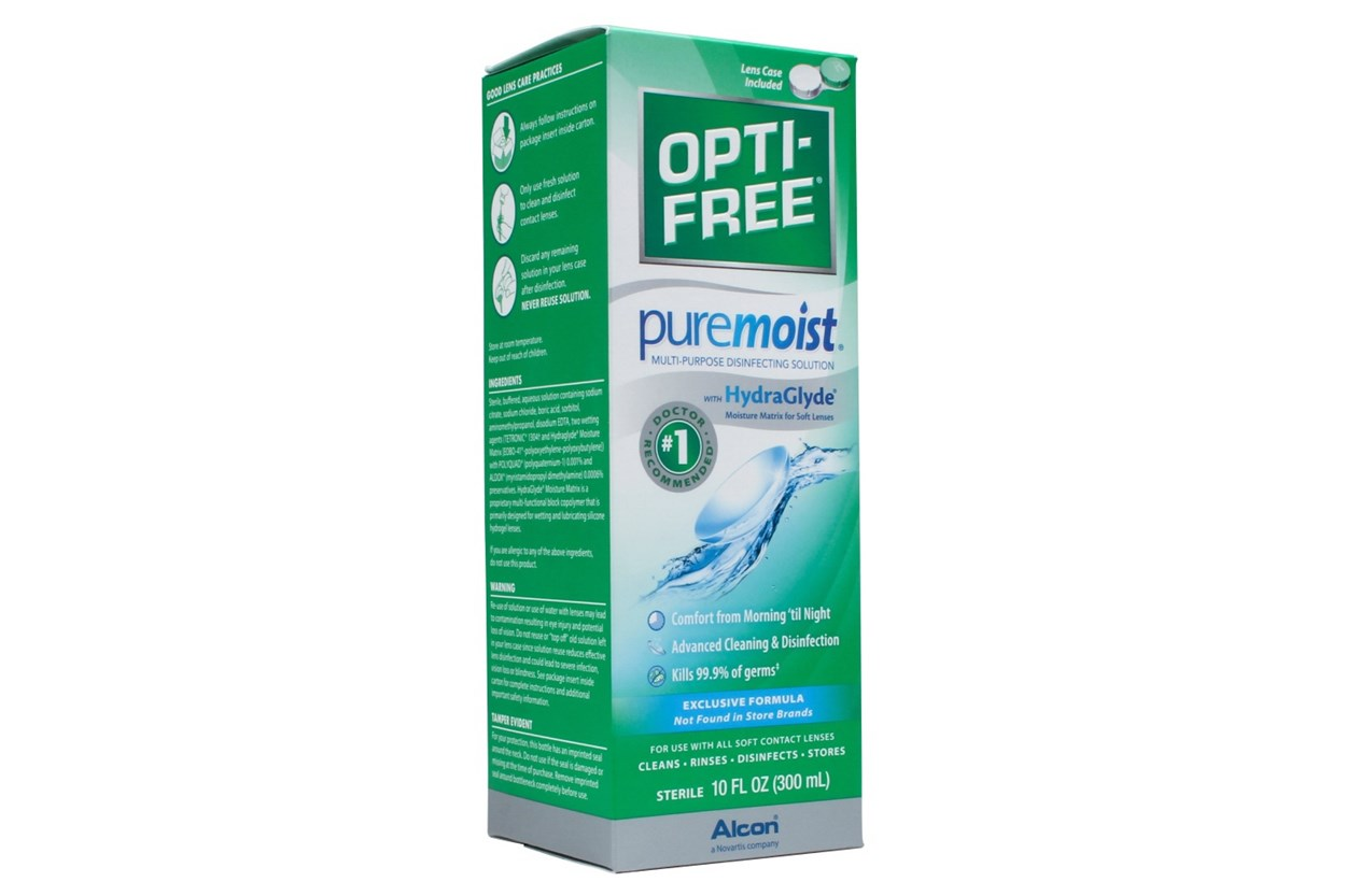 Opti-Free PureMoist Solution (10 fl. oz.)  SolutionsCleaners