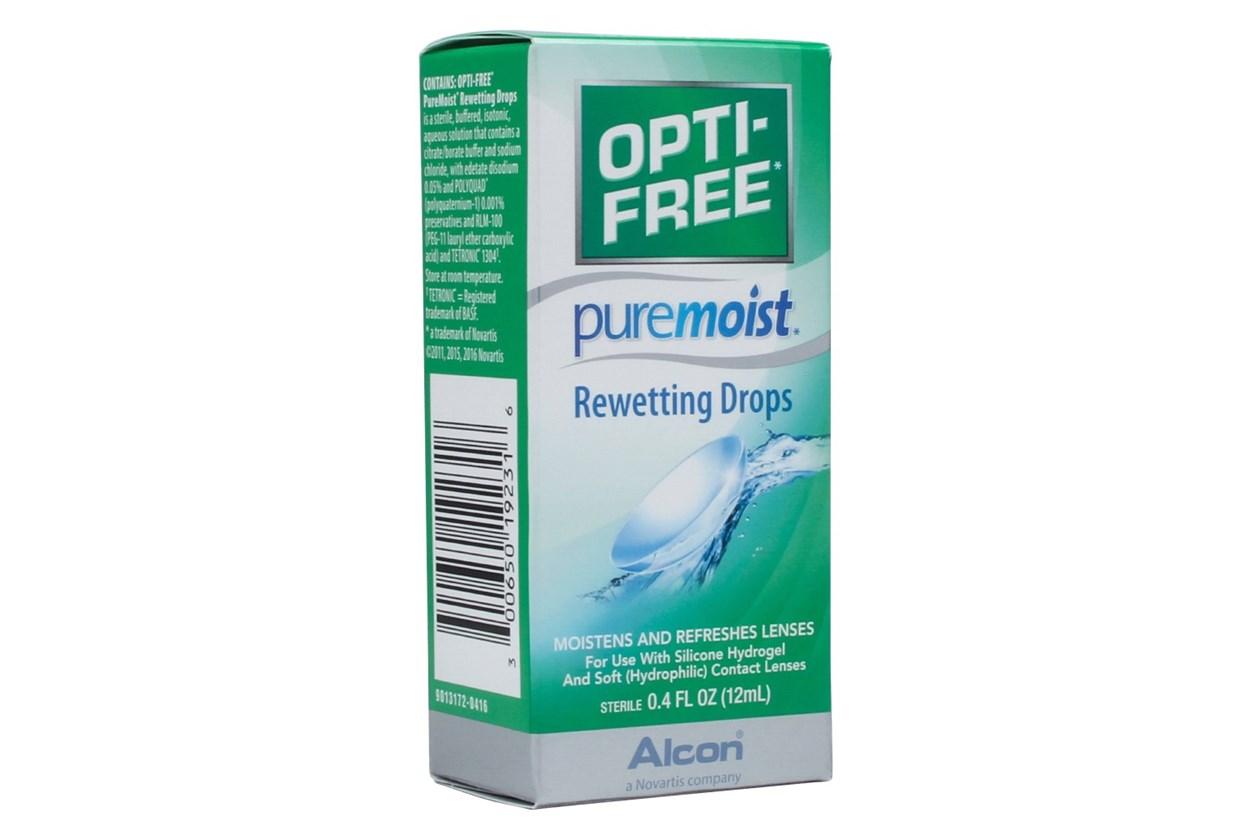 Opti-Free PureMoist Rewetting Drops (0.4 fl. oz.)  SolutionsCleaners