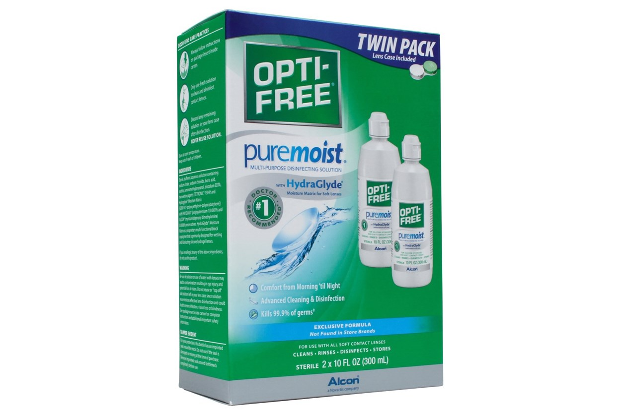 Opti-Free PureMoist Multi-Purpose Twin Pack  SolutionsCleaners