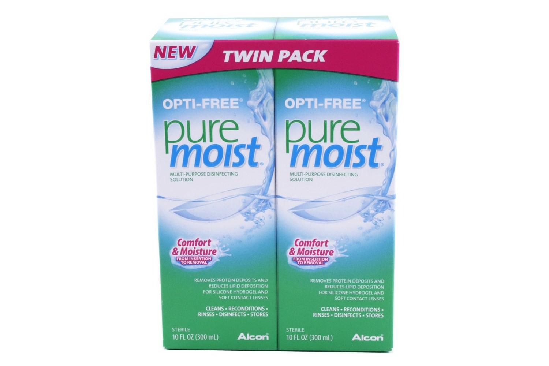 Opti Free PureMoist Multi Purpose Twin Pack