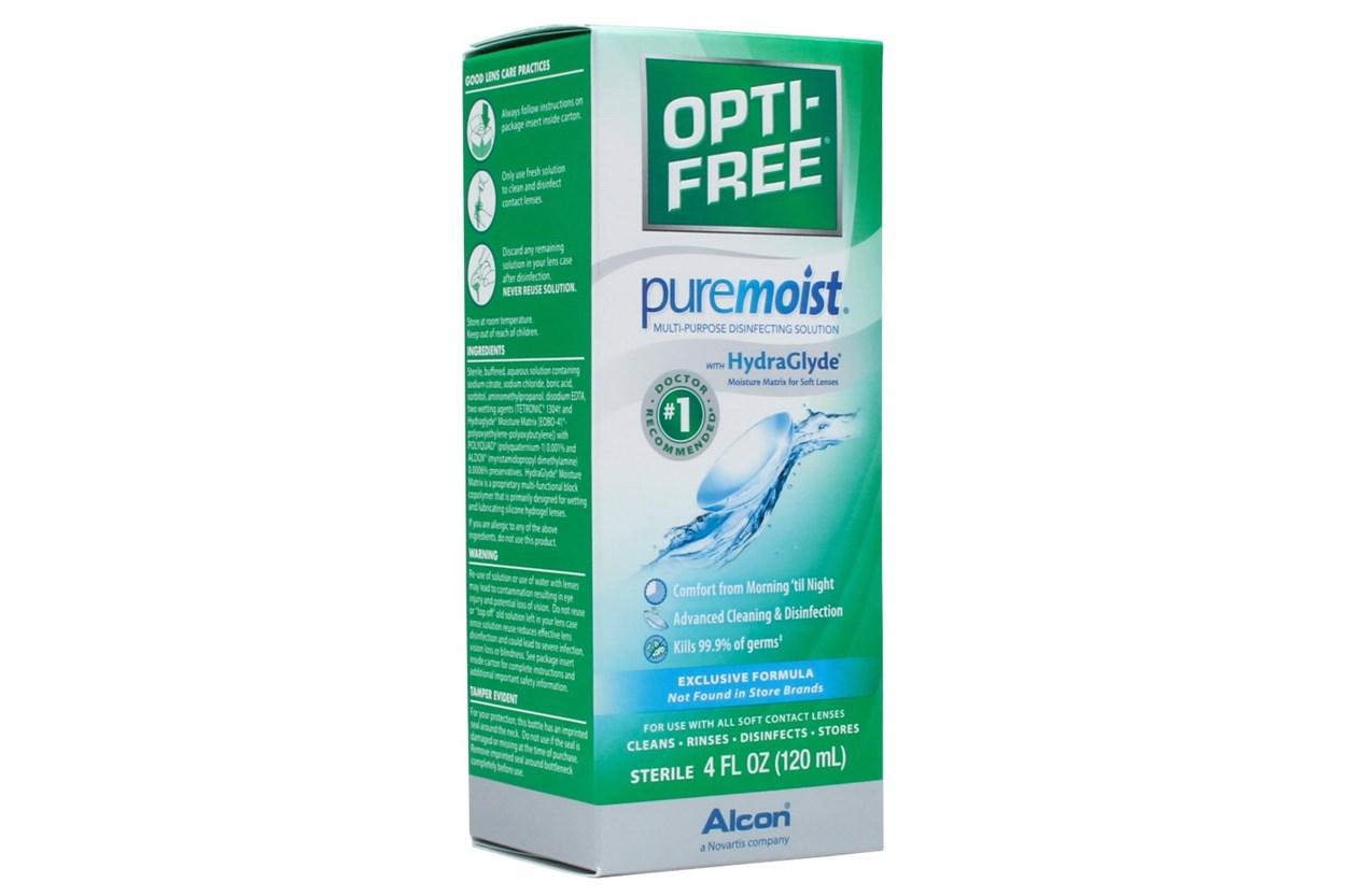 Opti-Free PureMoist Solution (4 fl. oz.)  SolutionsCleaners
