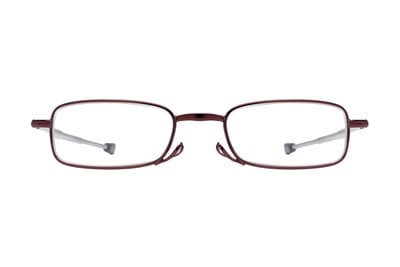 Magnivision Gideon Microvision Reading Glasses Red