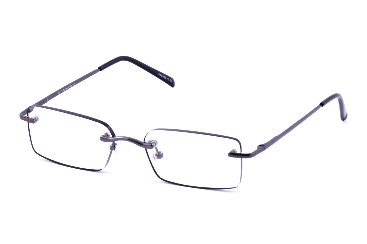 Reading Glasses No Frame : Xtravision Composer Mens Rimless Readers with Cases (2 ...