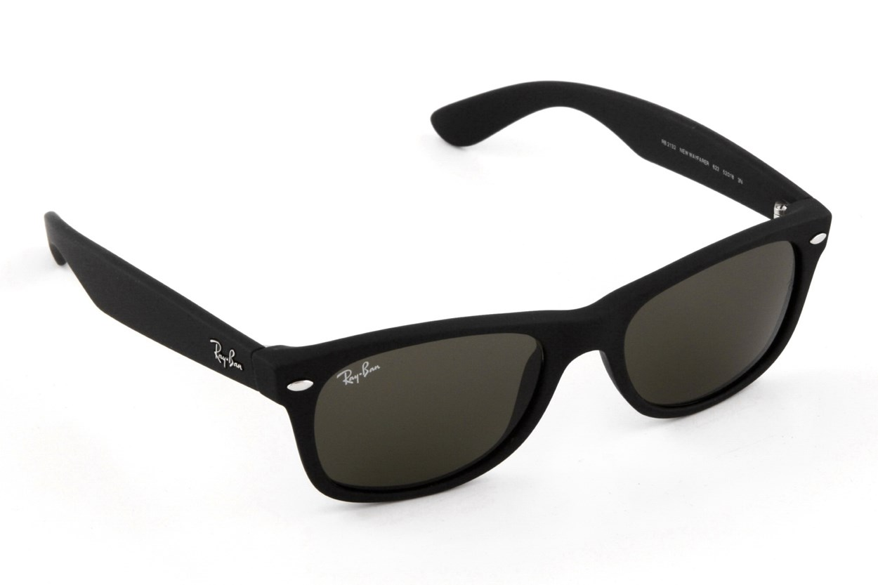 Ray-Ban® RB 2132 New Wayfarer 52 Black Sunglasses