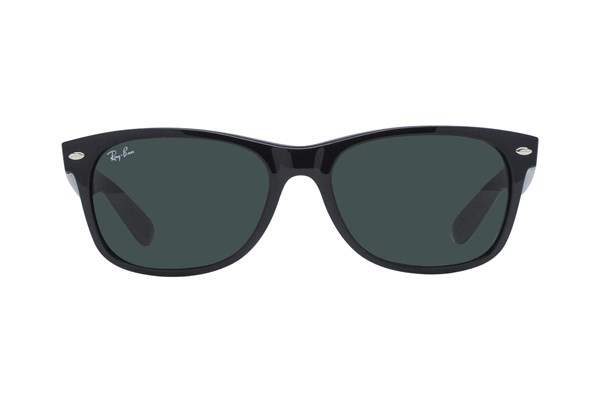 Ray-Ban® RB2132 55 New Wayfarer Black Sunglasses