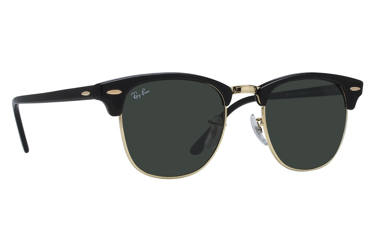 Ray-Ban® RB 3016 51 Clubmaster Black Sunglasses