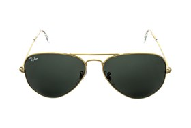 Ray-Ban® RB3025 58 Aviator Large Gold