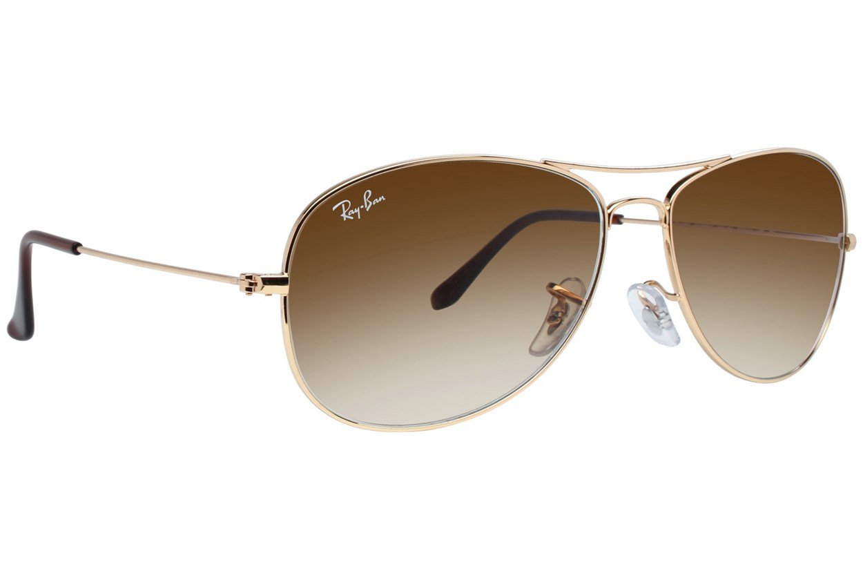 Ray-Ban® RB3362 59 Cockpit Gold Sunglasses