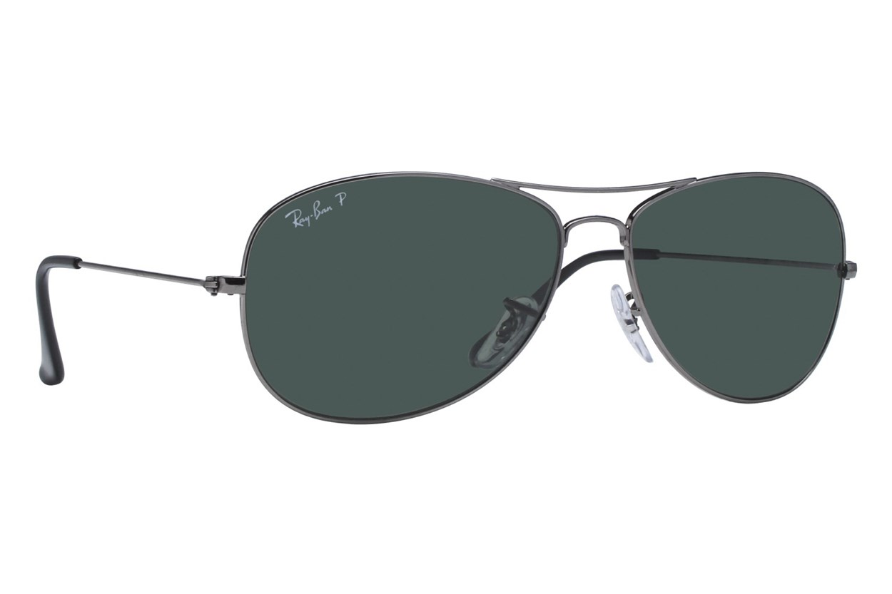 Ray-Ban® RB3362 59 Cockpit Polarized Gray Sunglasses