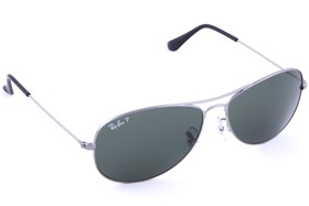 Ray-Ban® RB3362 59 Cockpit Polarized Gray
