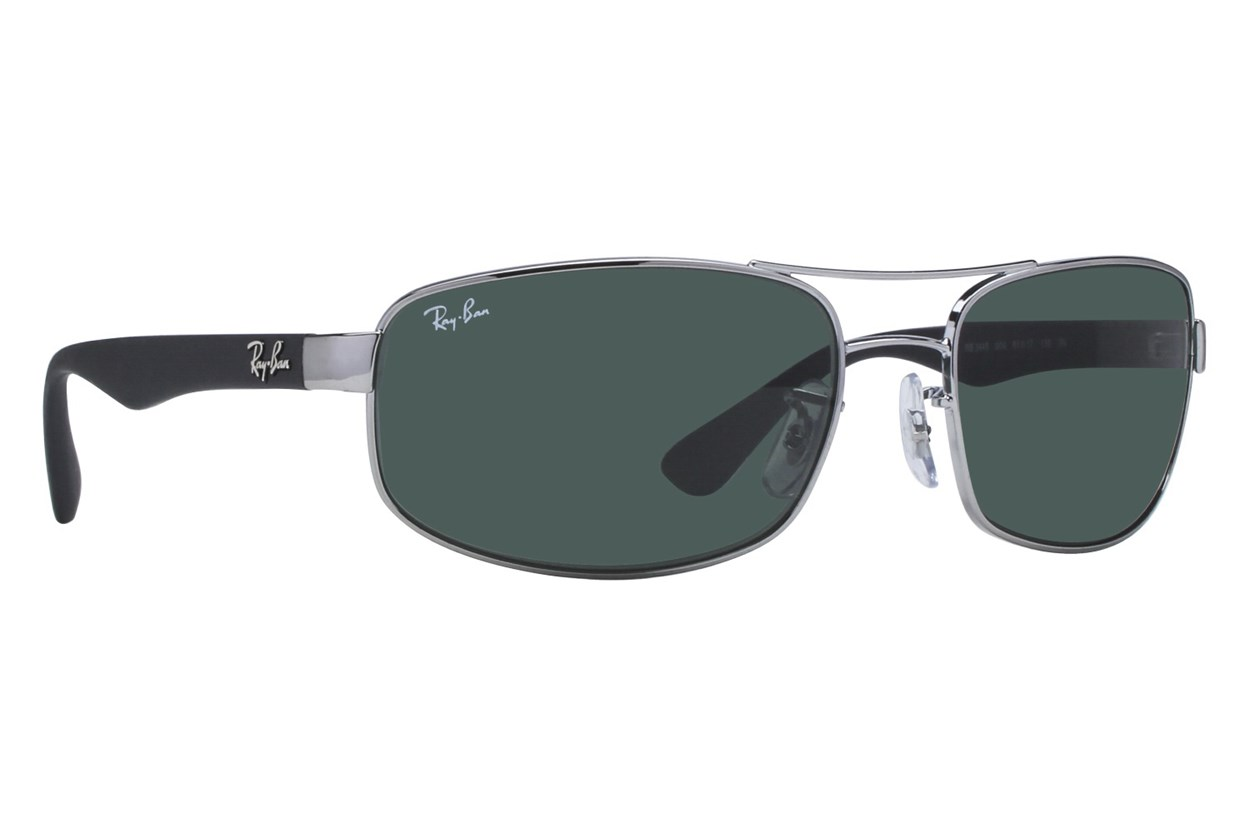Ray-Ban® RB3445 61 Gray Sunglasses
