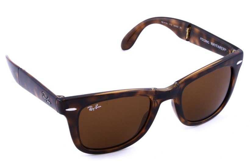 60512ae4a2 Ray-Ban® RB 4105 50 Folding Wayfarer - Sunglasses At AC Lens