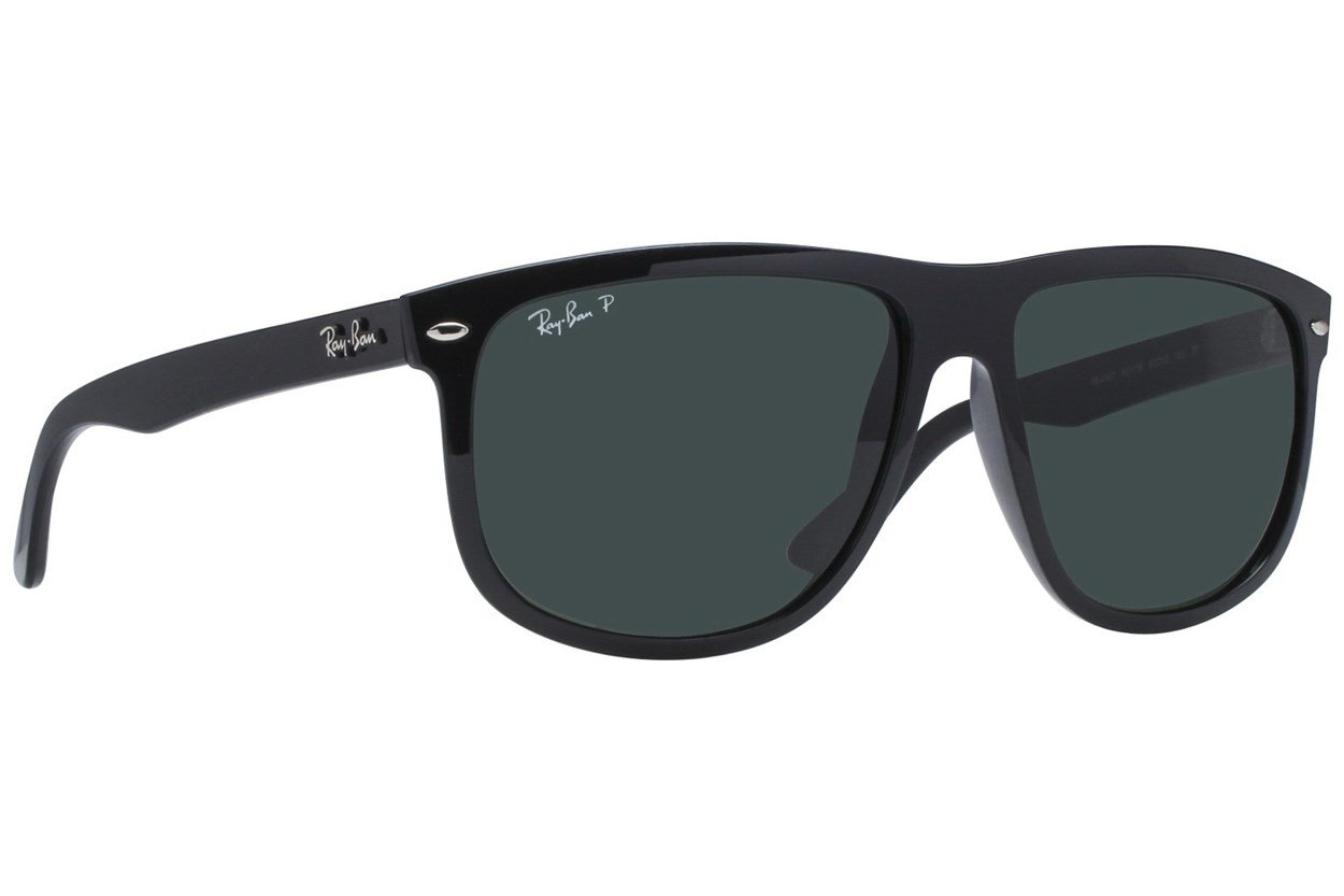 Ray-Ban® RB4147 60 Polarized Black Sunglasses