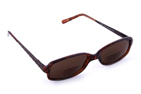 Private Eyes Norah  Bifocal Sun Readers Tortoise