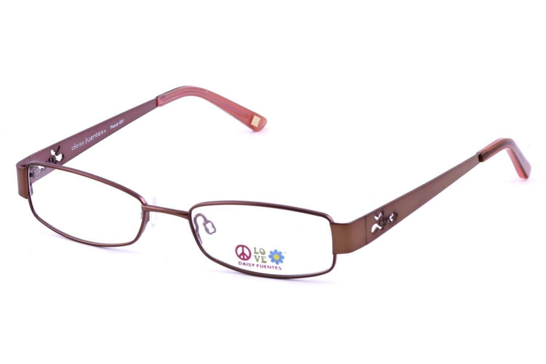 Daisy Fuentes DF Peace 401 Prescription Eyeglasses Frames