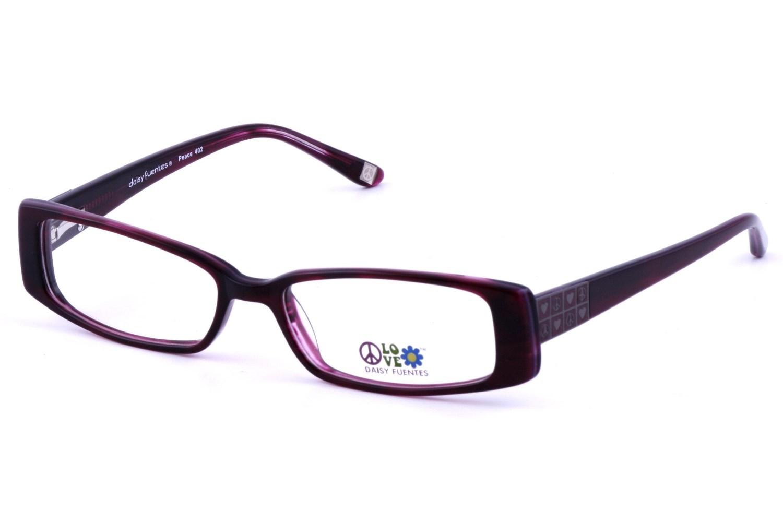 Daisy Fuentes DF Peace 402 Prescription Eyeglasses Frames