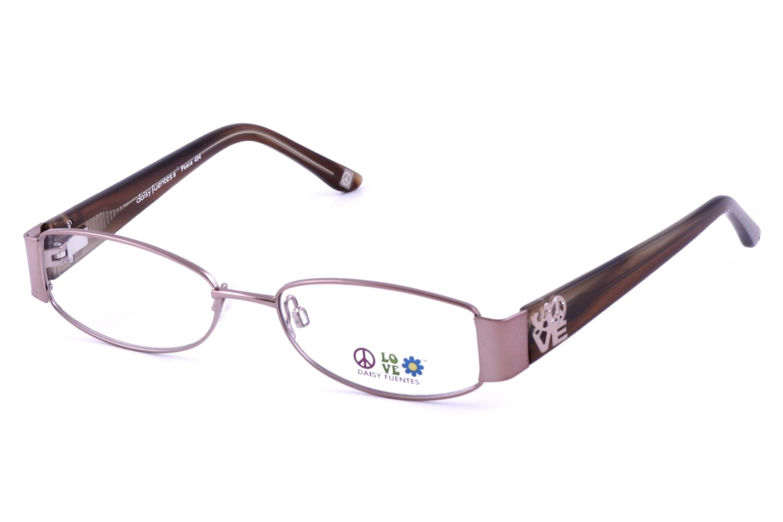 Daisy Fuentes DF Peace 404 Prescription Eyeglasses Frames