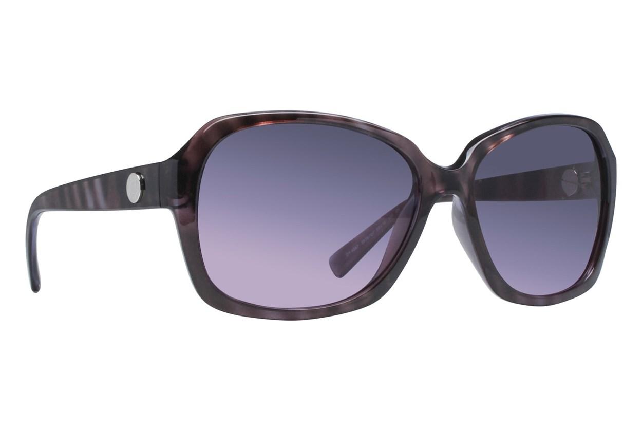 DKNY DY4087 Violet Tortoise Purple Sunglasses