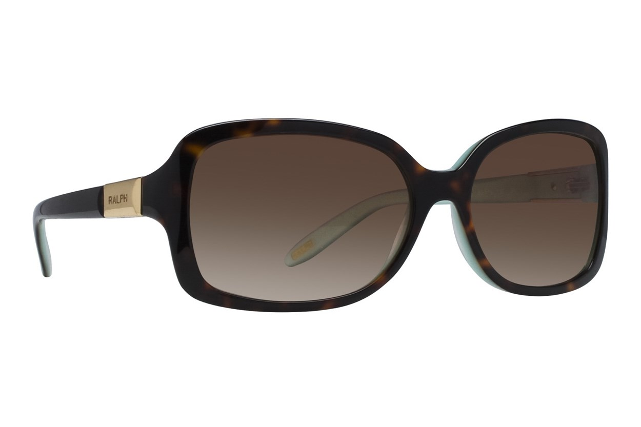 Ralph by Ralph Lauren RA5130 Light Tortoise Turquoise Brown Sunglasses