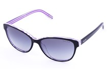 Ralph by Ralph Lauren RA5128 Black with Purple Stripes