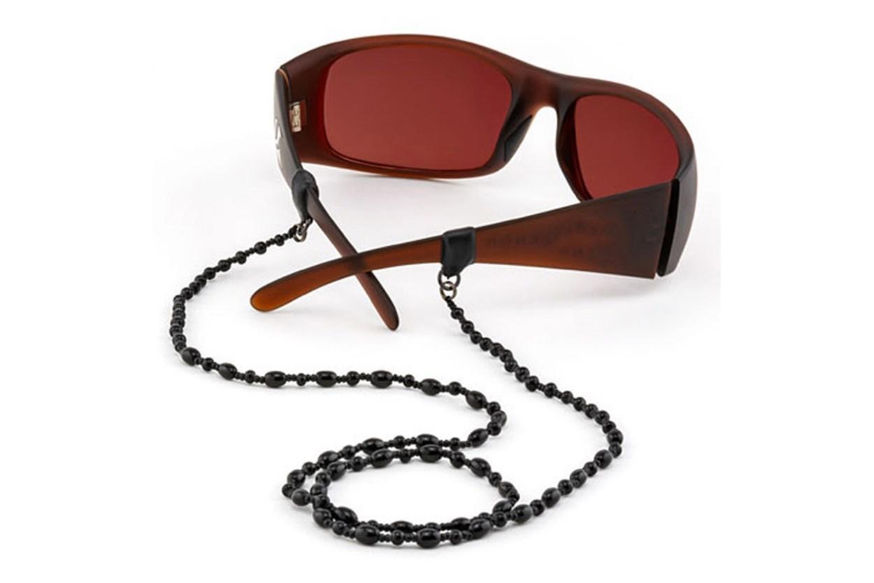 Alternate Image 1 - Croakies Czech Glass Tite End Eyeglasses Cord Blue GlassesChainsStraps