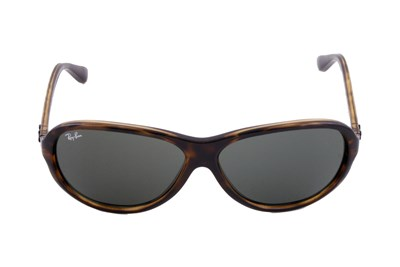 Ray-Ban® 4153 Plastic Aviator Brown