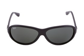 Ray-Ban® 4153 Plastic Aviator Black