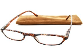 Peepers Skinny Mini Reading Glasses Tortoise